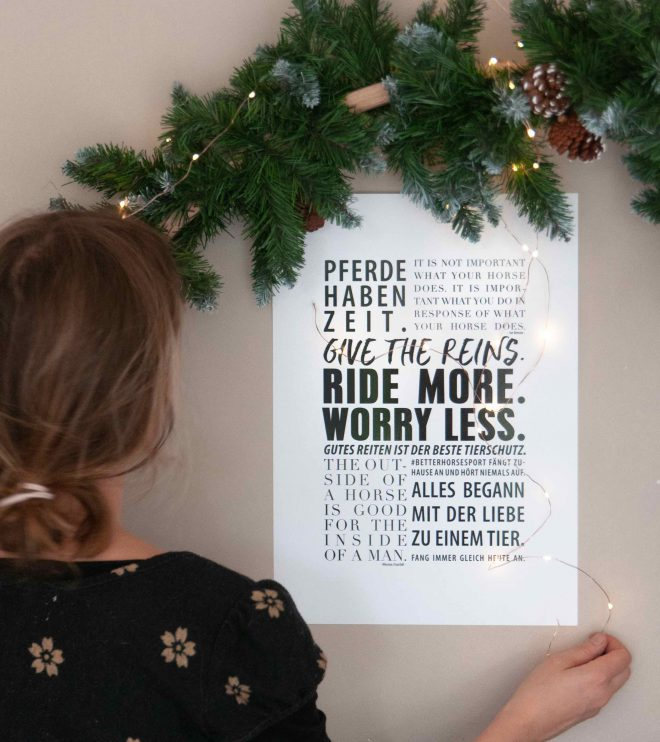 Poster für Pferdemenschen